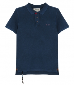 PREPSTER HEAVY MENDING POLO SLIM FIT