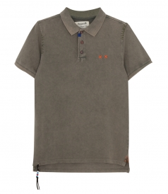 PROJECT E - PREPSTER HEAVY MENDING POLO SLIM FIT