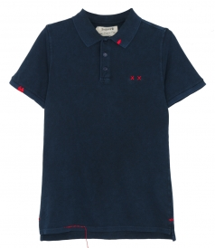 POLOS - WOODSTOCK PREPSTER POLO SLIM FIT