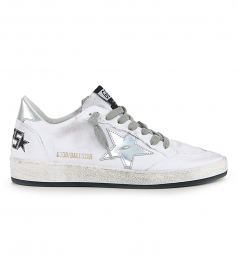 GOLDEN GOOSE  - IRIDESCENT BALL STAR SNEAKERS