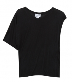 JUST IN - ASYMMETRIC JERSEY TOP