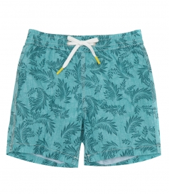 CLOTHES - CHAMBRAY PALMS ACHILLE SWIM SHORTS