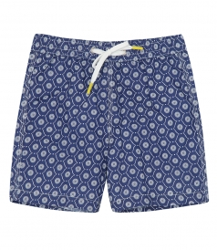 JUST IN - KIDS TILES ACHILLE SWIM SHORTS