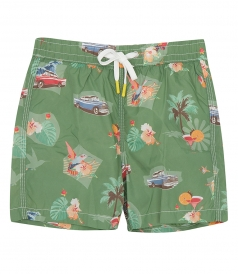 CLOTHES - KIDS CUBA ACHILLE SWIM SHORTS