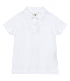 CLOTHES - KIDS COTTON JERSEY POLO