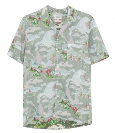 JUST IN - HAWAI SLAM PRINTED SHIRT