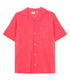 CLOTHES - TOWELLING POLO SHIRT