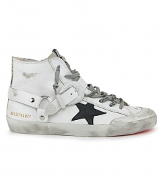 GOLDEN GOOSE  - TEXAS BUCKLE FRANCY SNEAKERS
