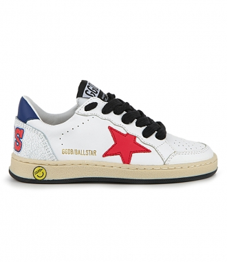 GOLDEN GOOSE  - TEXAS PRINTED BALL STAR SNEAKERS