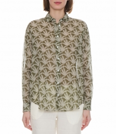 CHARLOT PALM TREES SHIRT