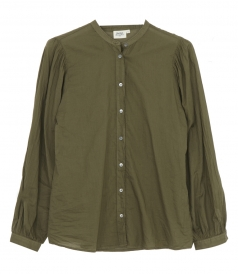 SHIRTS - CHANCE OPENWORK COTTON VOILE SHIRT