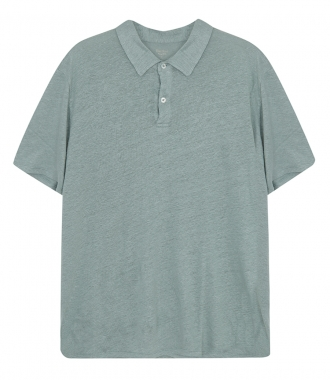 HARTFORD - LINEN POLO