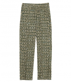 JUST IN - PRUNELLE ARGYLES PRINTED PANTS