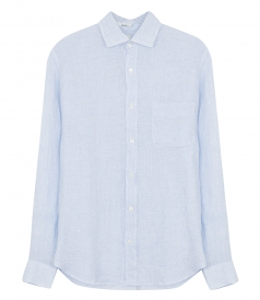 CLOTHES - STORM LINEN OXFORD STRIPES SHIRT