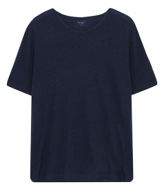 CLOTHES - CREW LINEN TEE-SHIRT
