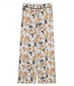 CLOTHES - PYJAMA TROUSERS IN DITSY FLORAL PRINT
