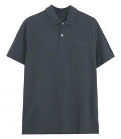 CLOTHES - SLUB JERSEY POLO