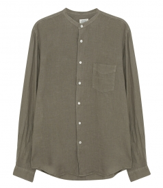 CLOTHES - MAO LINEN SHIRT PREMIUM PAT