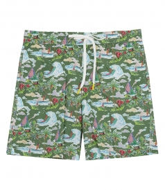 CLOTHES - HAWAIIAN DREAM SWIM SHORTS