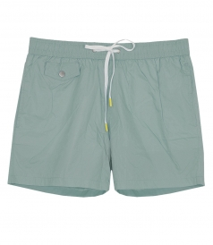 LIGHTWEIGHT SOLID BOXER SWIMWEAR