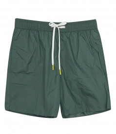 LIGHTWEIGHT SOLID SWIM SHORTS