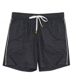 CLOTHES - LIGHTWEIGHT STRIPE SOLID SWIM SHORTS