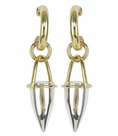 ACCESSORIES - CONSTANTIN SMALL HORN EARRINGS