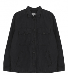 JACKETS - VISO FADED LINEN COTTON JACKET