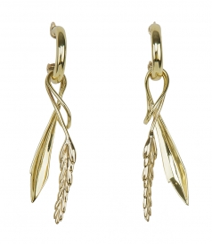ACCESSORIES - DIONYSOS WHEAT EARRINGS