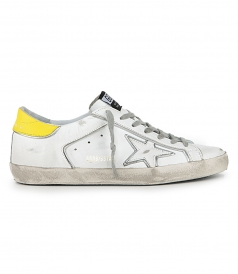 SILVER STAR SUPERSTAR SNEAKERS