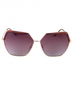 ACCESSORIES - MERCURY DEEP-RED SHINY METALLIC ACETATE