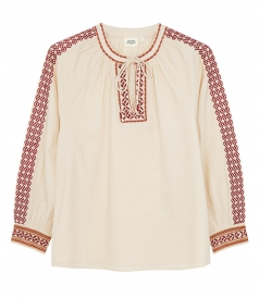 CLOTHES - HANDI ETHNIC EMBROIDERED BLOUSE