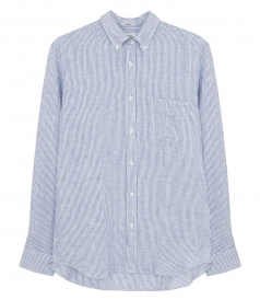 JUST IN - SIDE LINEN SHIRT