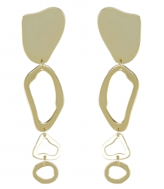 ACCESSORIES - ZEBRA DANGLE EARRING
