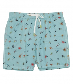 CLOTHES - PRINTED SWIM SHORTS