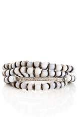THIN BAR WRAP BRACELET