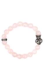 BRACELET WITH CROWNED HEART