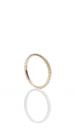 RINGS - 14K SMALL LITE CELL YELLOW GOLD RING