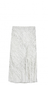 SALES - SEQUIN EMBROIDERED CHIFFON SKIRT