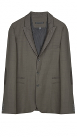 BLAZERS - PEAK LAPEL JACKET WITH TRIM