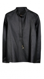 MOMA LEATHER SHIRT