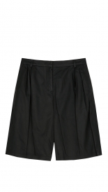 CLOTHES - MATTE LAMB WIDE LEG SHORTS
