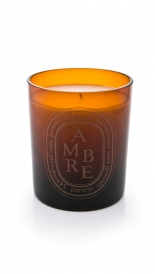CANDLES - SCENTED CANDLE AMBRE