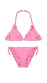 CLOTHES - PINK FLOWER BIKINI