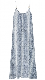 HEIDI KLEIN - RING ROPE MAXI DRESS