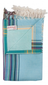 KIKOY SOLID BEACH TOWEL IN COTTON