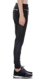 SLIM FIT LUREX LEGGINGS