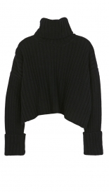 TURTLE NECK WOOL SWEATER