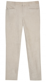 SUEDE STRAIGHT LEG PANT