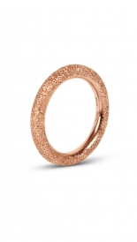 GOLD SPARKLY THICK RING